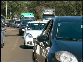 Receita estadual realiza blitz em Erechim, RS - O objetivo foi pegar os motoristas com o IPVA atrasado.