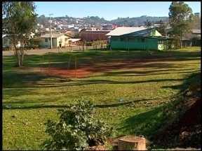 Associação cede área para a construção da escola Caras Pintadas - A nova escola dobrará a capacidade de alunos atendidos.
