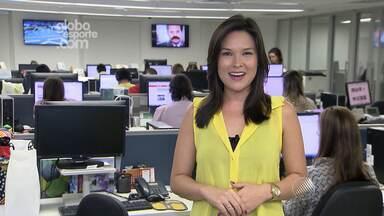 Globoesporte.com faz transmissão em tempo real do jogo entre Vitória e América Mineiro - A editora Tamires Fukutani traz mais informações.
