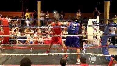 Lutadores disputaram no fim de semana mais uma etapa do Campeonato Estadual de Boxe - Lutadores disputaram no fim de semana mais uma etapa do Campeonato Estadual de Boxe