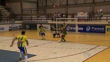 Ribeirópolis vence Carira por 3 a 0 pela Copa TV Sergipe de Futsal - Ribeirópolis vence Carira por 3 a 0 pela Copa TV Sergipe de Futsal