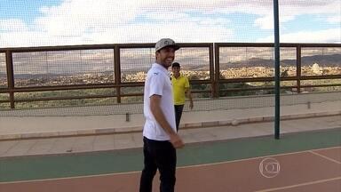 Atacante Thiago RIbeiro curte boa fase com a camisa do Atlético-MG - Na briga pela artilharia do campeonato, jogador vai no embalo do bom momento do time