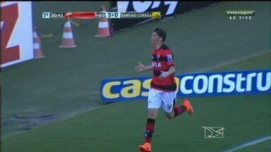 Atlético-GO vence o Sampaio, no Serra Dourada - Tricolor perde o segundo jogo consecutivo e cai para a sétima colocação na Série B