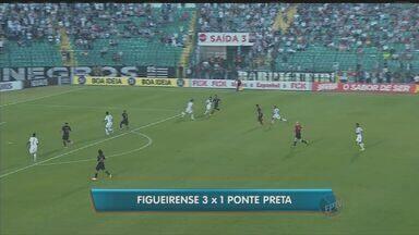 Ponte Preta perde para o Figueirense no Brasileirão - A Macaca chegou ao sétimo jogo sem vitória e está em 13º lugar na tabela do Campeonato Brasileiro.