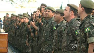 Exército brasileiro completa 145 anos em São Luís - Exército brasileiro completa 145 anos em São Luís