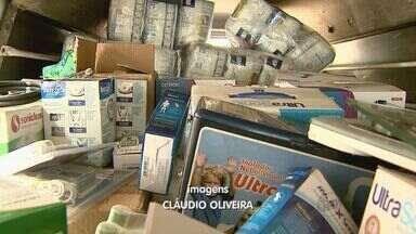 Polícia recupera equipamentos hospitalares furtados em Ribeirão Preto - Suspeitos utilizaram van de uma empresa para levar o carregamento até casa no bairro Ipiranga.