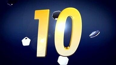GE 10: Os principais lances da 16 rodada do Campeonato Brasileiro - As jogadas mais bonitas e as mais bizarras do fim de semana