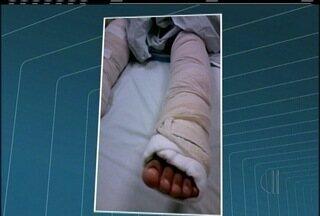 Criança de 8 anos tem 80% do corpo queimado após ser atingida por fio de alta tensão - Caso aconteceu em Rio das Ostras.