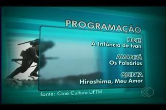 Filmes que retratam a 2ª Guerra Mundial são exibidos em Uberaba - Sessões de cinema são realizadas pelo Projeto 'Cine Cultura da UFTM'. Ex-combatente uberabense relata participação durante a guerra.