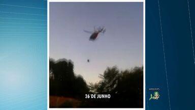 Sargento que caiu de helicóptero durante operação no Ceará recebe alta hospitalar - Acidente ocorreu em Caucaia, na Região Metropolitana de Fortaleza.