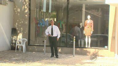 Em Ribeirão Preto, SP, ladrões miram as lojas no bairro Sumaré - Os comerciantes da região já perderam as contas de quantas vezes foram alvo de furtos e roubos.