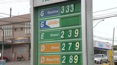 Combustíveis devem aumentar em Campina Grande - O valor já foi repassado aos donos de postos, mas eles estão praticando o mesmo preço até que o atual estoque de combustíveis acabe.