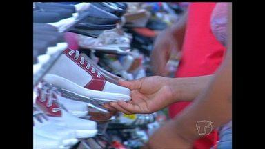 Vendas no comércio já estão aquecidas para o Dia dos Pais em Santarém - Muita gente já foi em busca do presente ideal para o paizão.