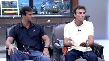 Ricardo e Emanuel faturaram o ouro nas Olimpíadas em Atenas em 2004 - Dupla relembra momentos emocionantes na carreira