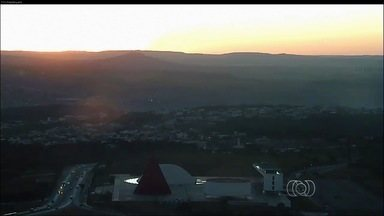 Confira a previsão do tempo para Goiás - Umidade relativa do ar continua baixa e as temperaturas, altas.