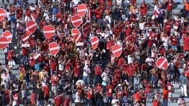 Vila Nova espera apoio da torcida contra o Fortaleza - Jogo do próximo sábado poderá valer a liderança da Série C para o Tigrão.