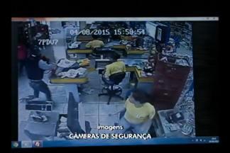 Dois homens foram presos na tarde de hoje(04) após roubarem mercado em Cruz Alta, RS - Bandidos também teriam tentando assaltar uma ótica no centro da cidade.