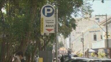 Zona Azul ganha mais vagas em Piracicaba - Confira na reportagem de Cristina Maia.