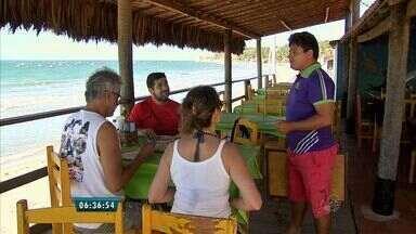 Bom Dia Ceará conta histórias de pessoas que ganham dinheiro de frente para o mar - Confira as reportagens da série 'Essa é Minha Praia'.