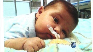 Menino Pedrinho, de Eunápolis, morre com infecção em hospital de Minas Gerais - Pedrinho lutava contra uma síndrome do intestino curto. Ele precisava de um transplante que custava R$ 1 milhão. Familiares faziam campanha para arcar com as despesas da cirurgia.