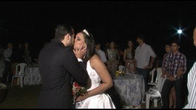 Primas e irmã de noivos fazem casamento surpresa no interior do estado - Veja a história que moveu toda uma família.