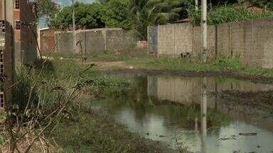 Moradores de Massagueira se queixam de situação caótica - Ruas estão sem pavimento e cheias de lama e buracos.