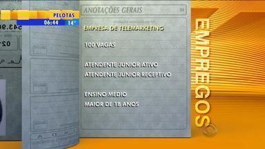 Emprego: empresa de telemarketing tem 100 vagas - Oportunidades são para Porto Alegre.