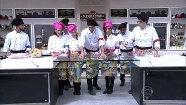Duplas do Super Chef Celebridades escolhem os ingredientes do desafio da imunidade - Ana Maria conta a surpresa que a prova apresentava