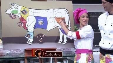 Participantes escolheram que carne gostariam de cozinhar - Depois dessa decisão, famosos estão prontos para o desafio