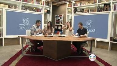 Apresentadores do 'É de Casa' falam sobre preço dos alimentos - Ana Furtado, Patricia Poeta, Tiago Leifert e Zeca Camargo fazem um resumo das notícias da semana e falam sobre baixa do preço da cebola no Brasil