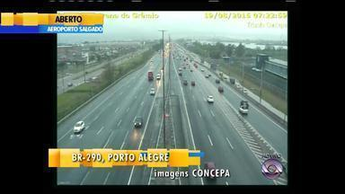 Trânsito: confira a movimentação na manhã desta quarta-feira (19) - Assista ao vídeo.