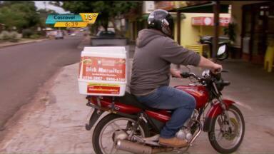 Pedidos de 'delivery' aumentam em Foz do Iguaçu - Veja o motivo de muita gente estar preferindo essa opção.