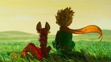 Animação adaptada do livro 'O Pequeno Príncipe' estreia em SP - O filme conta a história de uma menina sufocada pelos estudos e que vive uma rotina muito estafante até que a garota conhece um vizinho, que apresenta o livro como é conhecido.