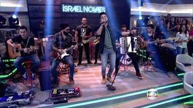 Israel Novaes abre Encontro com sucesso - Cantor é a atração musical dessa quinta-feira (20/8)