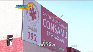 Consórcio para atendimento do Samu, no oeste, pode acabar - O Consórcio Intermunicipal SAMU Oeste, o Consamu, que atende a região de Cascavel, ameaça fechar as portas. Os 43 municípios, que fazem parte do consórcio, não estão dando conta de bancar o atendimento.