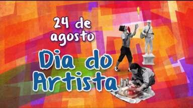 Nesta segunda-feira (24) é comemorado o dia dos artistas que fazem artes nas ruas - Artistas que expõem suas artes nas ruas, cantam, dançam acabam fazendo a diferença nos nossos dias.