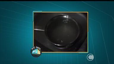 VC no PI TV: telespectador denuncia a péssima qualidade da água no bairro Buenos Aires - VC no PI TV: telespectador denuncia a péssima qualidade da água no bairro Buenos Aires