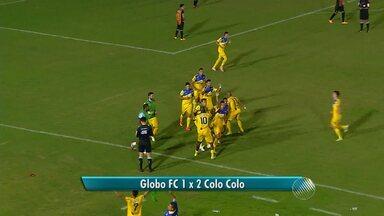 Colo Colo vence e se mantém vivo na série D - Veja como foi a partida contra o Globo.