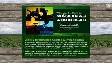 Confira festas e eventos rurais desta semana pelo país - Em Fortaleza acontece a Feira Internacional sobre Irrigação; em Porto Alegre, Simpósio de Máquinas Agrícolas e a Festa do Ovo e do Abacate em Arapongas, Paraná.
