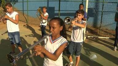 Fanfarras ajustam os últimos preparativos para o Sete de Setembro - Grupos de música são alguns dos destaques da comemoração.