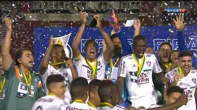 Time sub-20 do Vitória perde o título de campeão brasileiro para o Fluminense - Partida foi na tarde de quarta (2) no Barradão.