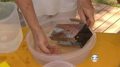 Saiba como usar o bicarbonato na limpeza de peças de inox e prata - Veja as dicas da consultora em organização Lílian Matos.
