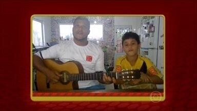 Conheça mais algumas versões do samba do Cafezinho com Escobar - Veja o tutorial no site.