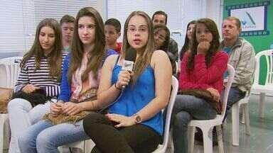 Estudantes do Sul de Minas visitaram a emissora da EPTV nesta terça-feira (8) - Estudantes do Sul de Minas visitaram a emissora da EPTV nesta terça-feira (8)