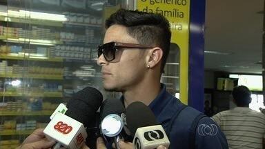Jogadores do Goiás minimizam derrota no Sul e garantem foco - Esmeraldinos voltam a Goiânia novamente no Z-4, mas já pensam no Sport