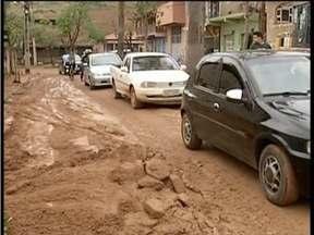 Temporal em Divinolândia de Minas deixa 40 famílias desabrigadas - Prefeitura ainda não conseguiu avaliar estragos na área rural.