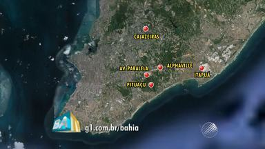 Fornecimento de água será interrompido em 50 localidades de Salvador - De acordo com a Embasa, a suspensão do serviço será feita para manutenção dos reservatórios.