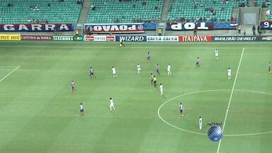 Bahia enfrenta o Macaé na Fonte Nova - Veja um pouco do início da partida.