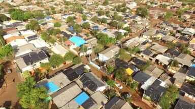 Imagens aéreas dão dimensão dos estragos causados pelo temporal - Mais de sessenta mil pessoas foram afetadas pelo temporal