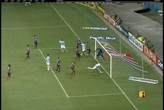 Em duelo movimentado, Macaé perde para o Bahia e fica a duas colocações do rebaixamento - Destaque para o goleiro Rafael, que salvou o time em duas defesas importantes.